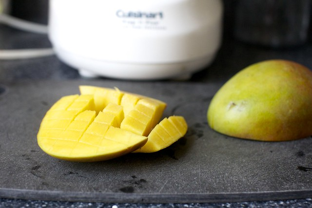 a riper mango would have been better