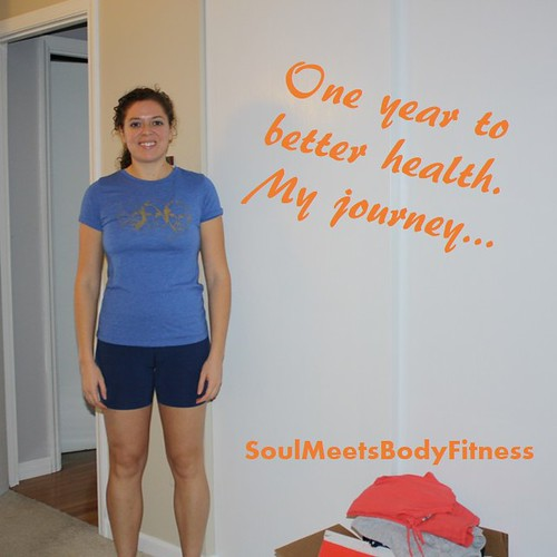 My fitness journey one year