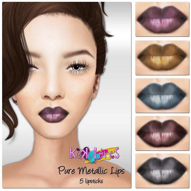 [KoKoLoReS] BP - Pure Metallic Lips