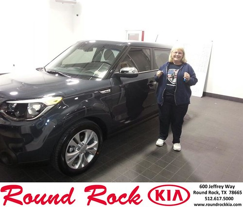 Thank you to Janet Cooley on your new 2014 #Kia #Soul from Fidel Martinez and everyone at Round Rock Kia! by RoundRockKia