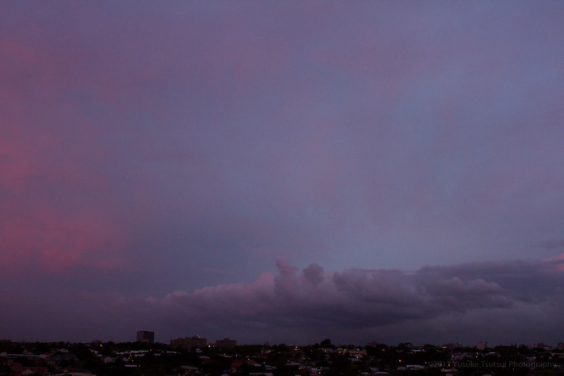 Sunset Thu 10 October 2013