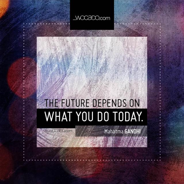 The future depends  by WOCADO.com