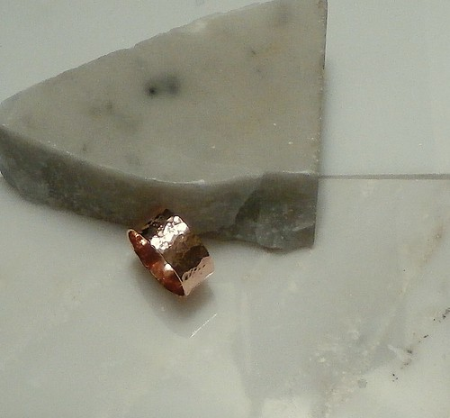 ring copper size 10.5 by Wolfgang Schweizer