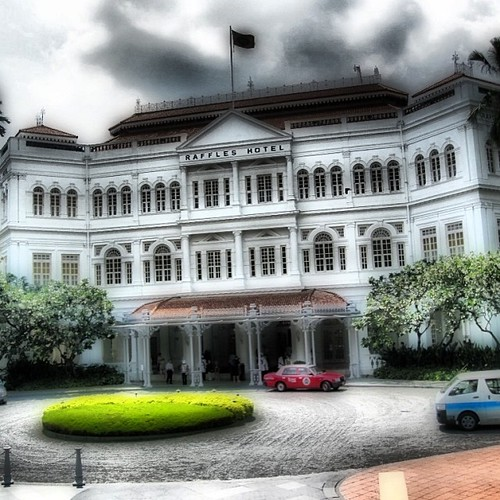 Raffles Hotel #singapore by @MySoDotCom