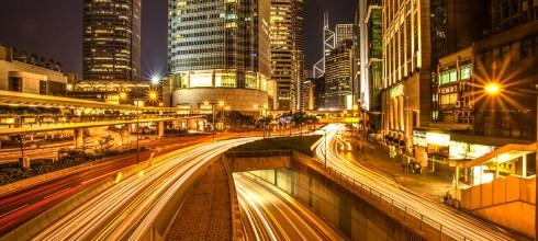 【香港】。一星期內搞定香港自由行 │ 初拍香港車軌之中環夜太美!!!