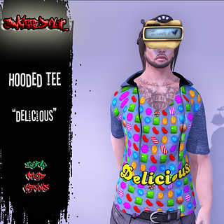 SwaggedOut - Delicious Hooded Tee