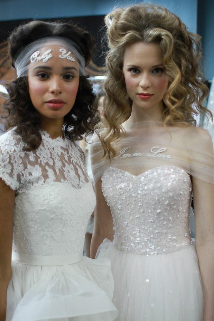 Reem Acra Spring 2014 Bridal- Backstage - 018