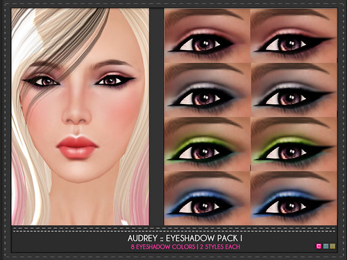 Audrey Eye Shadow Pack I