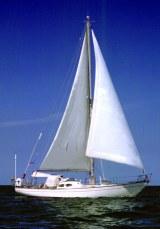 Semira Under Sail