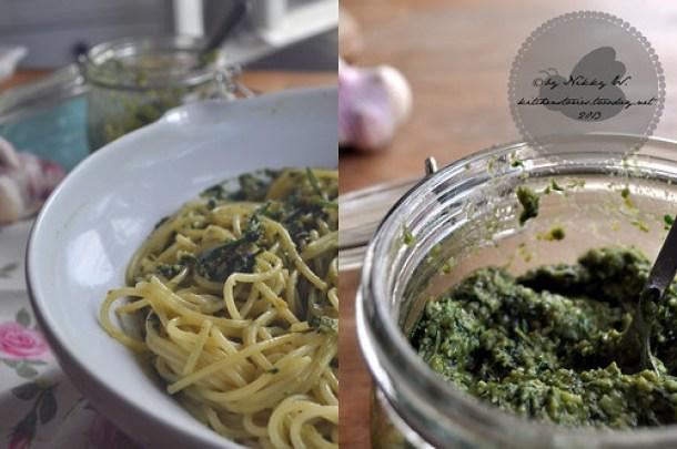 Pesto mit Walnüssen 4