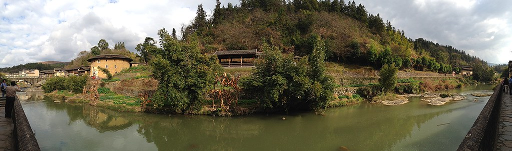 Panorama of Jinfeng Creek