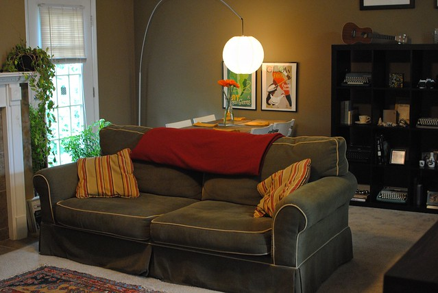 Couch, Dining Area