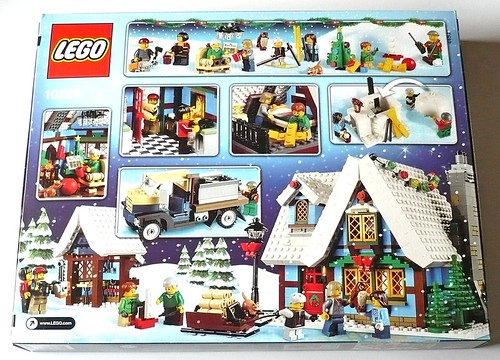 LEGO 10229 Winter Village Cottage box02