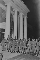 National Guard Outside Taliaferro Hall at U of MD: May 1970