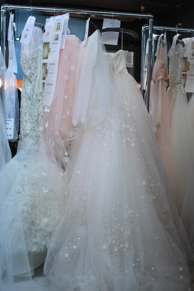 Reem Acra Spring 2014 Bridal- Backstage - 002