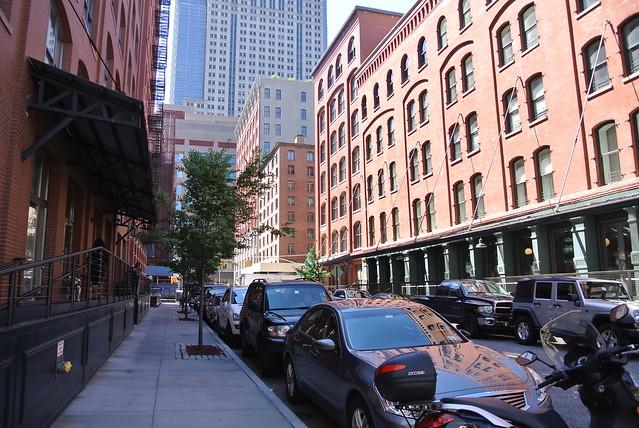Tribeca side street