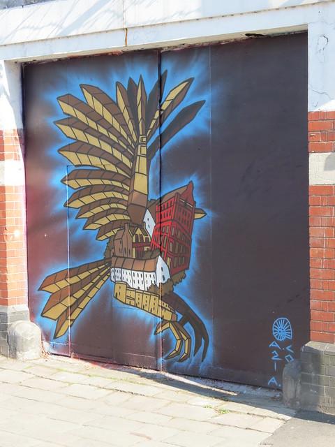 Bristol street art - Andy Council
