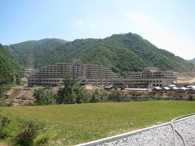 North Korean Ski Slope Hotel