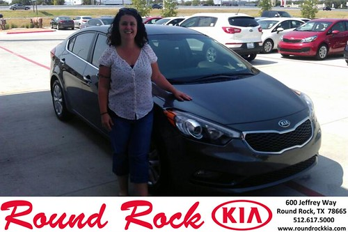 Thank you to Serenity Spitzer on your new 2014 Kia Forte from Ivan Villa and everyone at Round Rock Kia! by RoundRockKia
