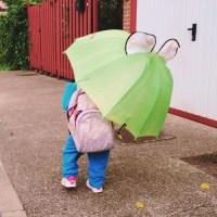 La dura vida de un paraguas