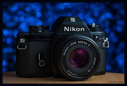 Nikon EM with Nikkor 1.8/50mm E