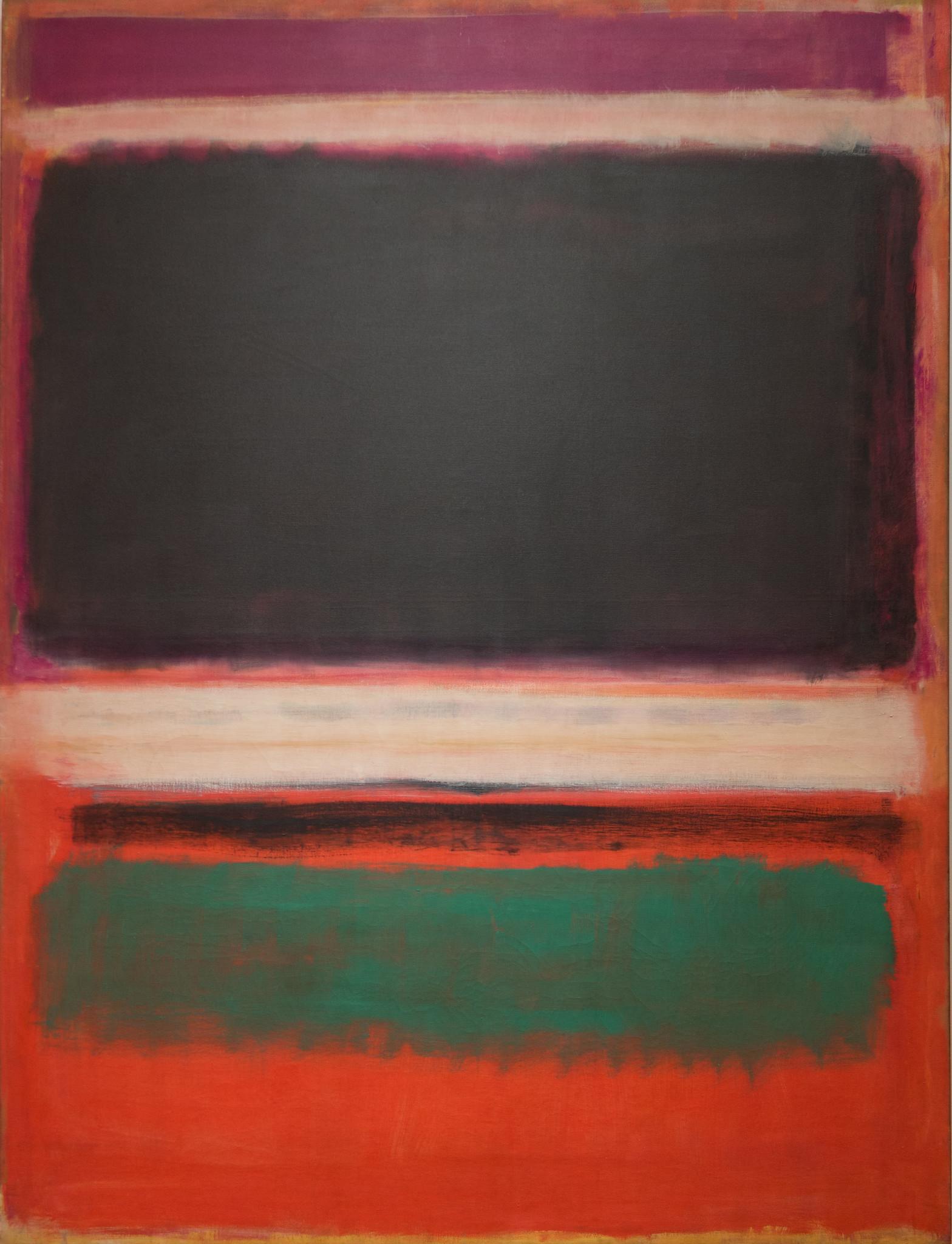 Mark Rothko, No. 3 No. 13 1949, MOMA