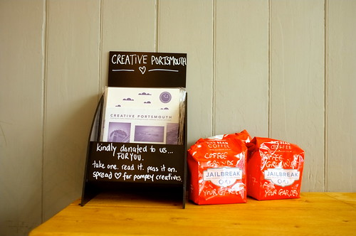 My Creative Portsmouth book now at Southsea Coffee