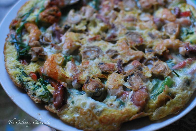 Haemul Pajeon - Seafood Pancake