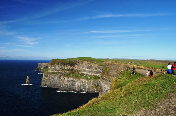 I Couldn't Stop Looking Away from the Beauty of the Cliffs of Moher