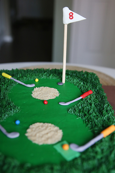 Miniature Golf Cake Heather Drive