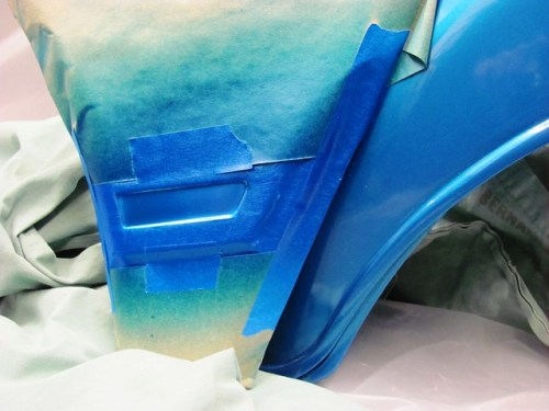 Color Test: Duplicolor Exact Match Series, Ford Twilight Blue Metallic