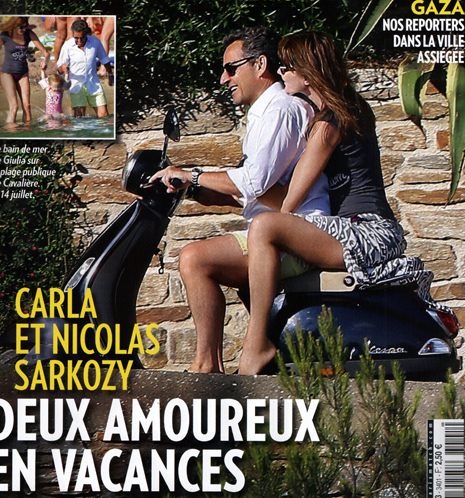 14g24 Sarko y Carla en Paris Match ABC variante Uti 465