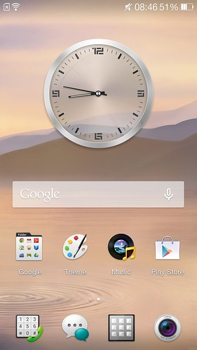 Home screen ของ Oppo Find 7a