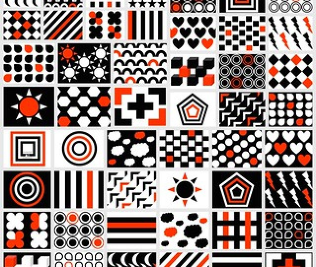 Black White Red Patterns For Your Newborn Free Printable Domanmom Com