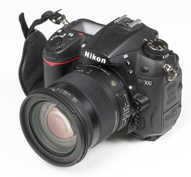 Объектив Sigma на тестовом Nikon D7000