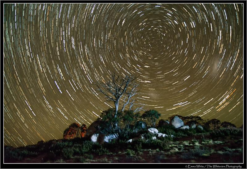 Stars Trail Rennix Trail