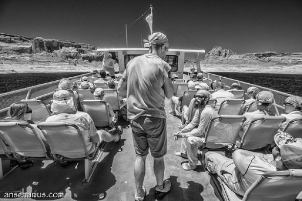 Rainbow Bridge Boat Trip #6 - Nikon 1 V1 - Infrared 700nm