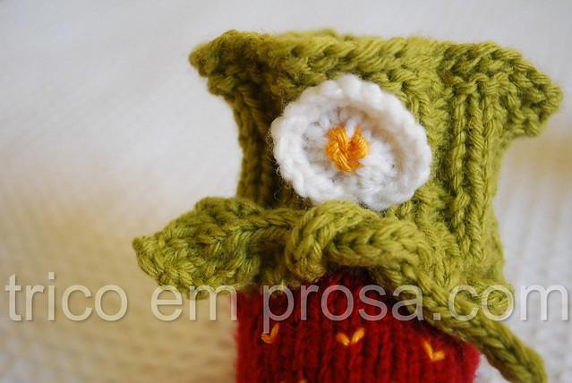 blog trico em prosa - como cultivar morangos - Sapatinhos de Morango da Pjusken