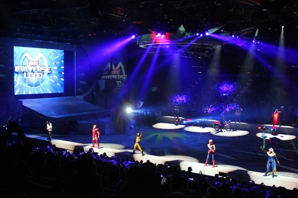 Marvel Universe Live touring arena show