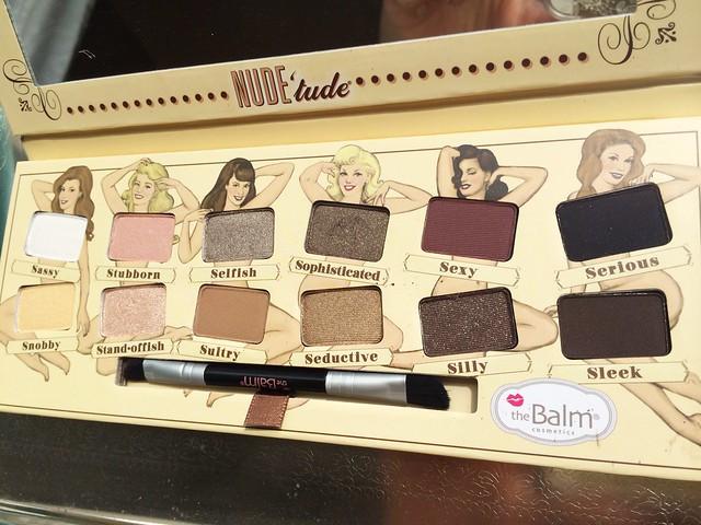 theBalm Nude'tude Palette