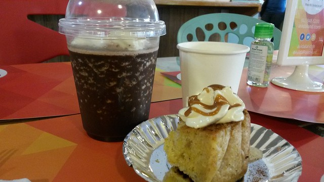 Noriter cake & drinks