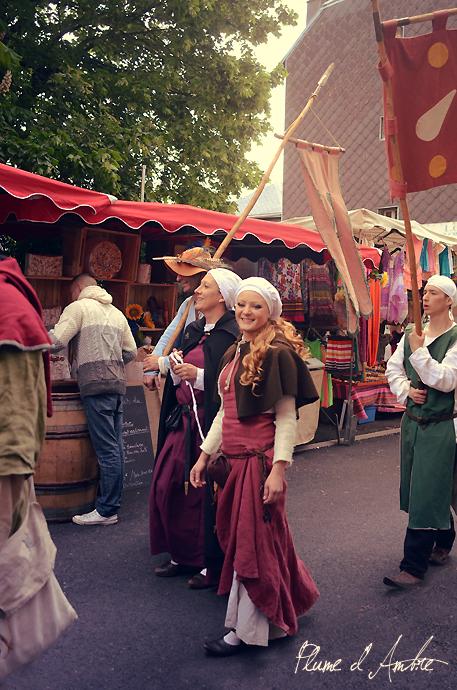 défilé médiéval