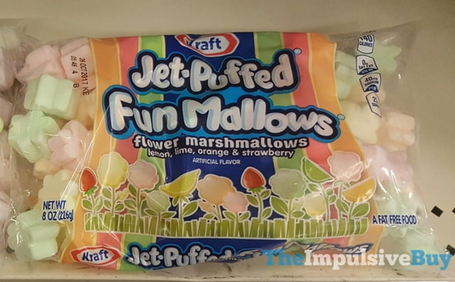 Kraft Jet-Puffed Fun Mallows Flower Marshmallows
