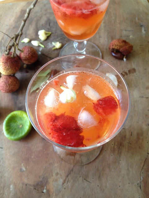 Paticheri jasmine lychee cocktail