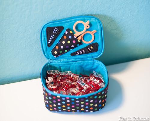 Sew Sweetness Kismet Trinket Box Binding Kit