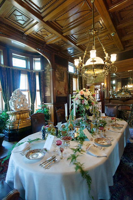 The Dining room at Maymont Mansion