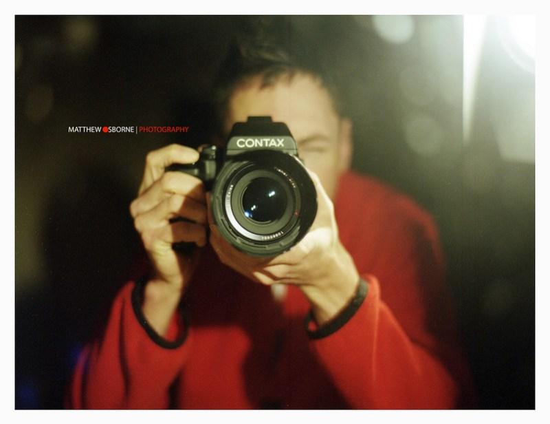 Contax 645 Selfie