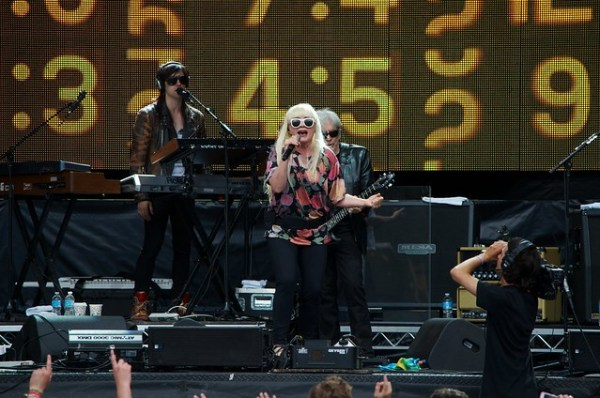 Blondie at Pemberton Music Festival