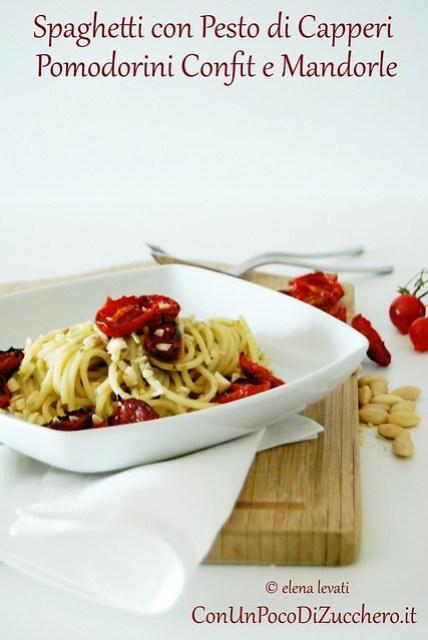 Spaghetti pomodorini confit 1