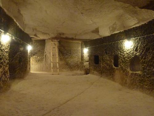 Turquie - jour 20 - Cappadoce, dans les airs et sous terre - 156 - Cité souterraine de Tatlarin